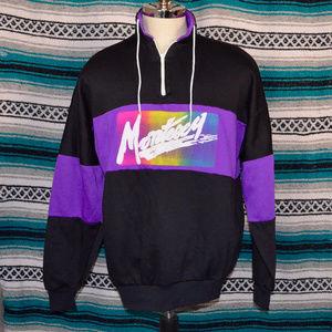 80s Monterey Color Block Sweatshirt XL